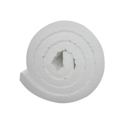 White Ceramic Fiber Rock Wool Insulation Blanket
